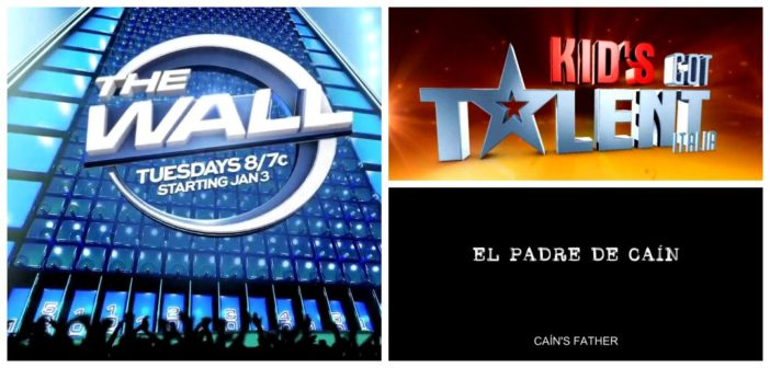 What's Buzzing on Fresh TV – Cain's Father, The Wall, Kid's Got Talent