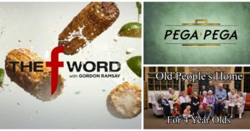 What's Buzzing on Fresh TV - The F Word with Gordon Ramsay, Pega Pega, Old People's Home for 4 Year Olds