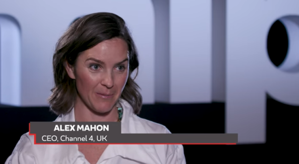 Alex Mahon CEO of Channel 4