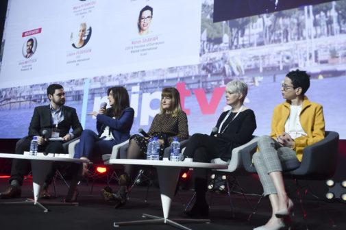 MIPTV 2018 - CONFERENCES - THE BIG SHIFT MEGA PANEL - DISTRIBUTORS WITH A PRODUCERS MINDSET