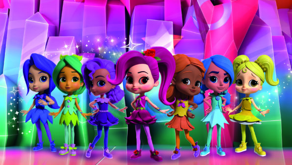Diversity in Kids TV: Rainbow Rangers (Genius Brands)